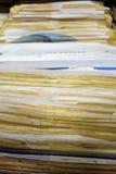 Retrato dental de los expedientes Foto de archivo libre de regalías