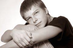 Retrato do adolescente imagem de stock royalty free