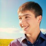 Retrato do adolescente ao ar livre Imagens de Stock