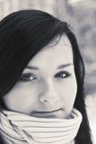 Retrato do adolescente bonito Imagem de Stock