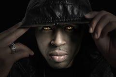 Retrato do americano africano Foto de Stock Royalty Free