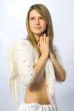 Retrato do anjo Fotografia de Stock Royalty Free