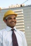 Retrato do arquiteto indiano novo Imagens de Stock Royalty Free