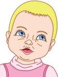 Retrato do bebé Foto de Stock Royalty Free