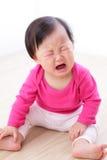Retrato do bebé de grito Fotos de Stock Royalty Free