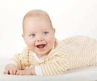 Retrato do bebê bonito fotografia de stock
