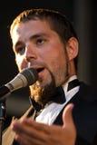 Retrato do cantor da ópera Foto de Stock Royalty Free