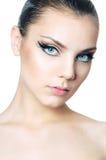 Retrato do close-up Imagens de Stock Royalty Free