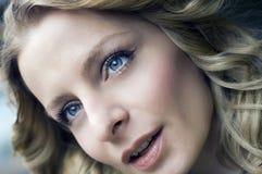 Retrato do Close-up Fotos de Stock Royalty Free