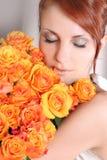 Retrato do Close-up Fotografia de Stock Royalty Free