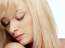 Retrato do Close-up da menina 'sexy' Imagens de Stock Royalty Free