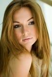 Retrato do Close-up da rapariga Fotografia de Stock