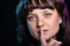Retrato do close up das mulheres Imagens de Stock