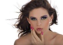 Retrato do Close-up de bonito Imagens de Stock Royalty Free