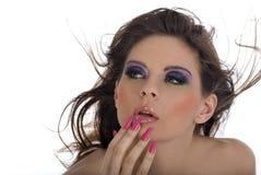 Retrato do Close-up de bonito Foto de Stock