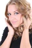 Retrato do Close-up de bonito Imagem de Stock