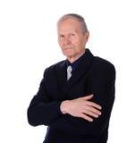 Retrato do close up de um homem de negócios em um terno Foto de Stock Royalty Free