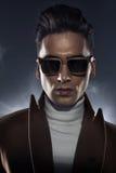 Retrato do close up de um homem elegante Imagens de Stock