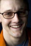Retrato do close up de um homem novo Imagem de Stock