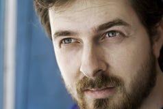 Retrato do Close-up de um indivíduo masculino Foto de Stock Royalty Free