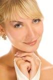 Retrato do Close-up de uma menina imagem de stock