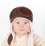 Retrato do close up do bebê bonito foto de stock