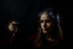 Retrato do conto de fadas Fotos de Stock Royalty Free