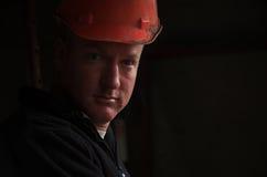Retrato do contramestre do trabalhador da construção fotografia de stock royalty free