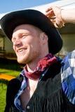 Retrato do cowboy Imagens de Stock Royalty Free