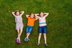Retrato do crianças bonitos Imagens de Stock Royalty Free