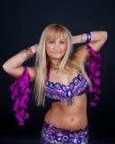 Retrato do dançarino adorável fotos de stock royalty free