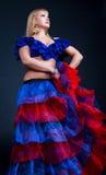 Retrato do dançarino do flamenco imagem de stock royalty free