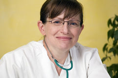 Retrato do doutor. Imagens de Stock