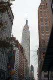 Retrato do Empire State Building Fotos de Stock