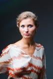 Retrato do estúdio da menina Imagem de Stock