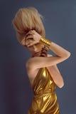 Retrato do estúdio da menina egípcia nova do estilo Imagens de Stock Royalty Free