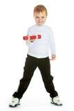 Retrato do estúdio de um rapaz pequeno Imagens de Stock Royalty Free