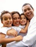Retrato do estilo de vida da família Imagens de Stock