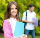 Retrato do estudante fêmea fotos de stock royalty free