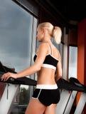 Retrato do exercício do atleta Imagem de Stock