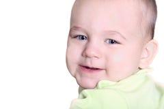 Retrato do fim agradável do bebê acima Fotos de Stock