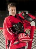 Retrato do Goalie Imagens de Stock Royalty Free