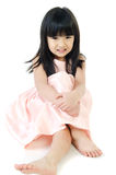 Retrato do gril bonito asiático Imagem de Stock Royalty Free