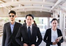Retrato do grupo de uma equipe profissional do negócio imagem de stock royalty free