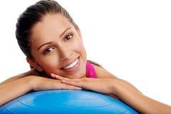 Retrato do Gym imagem de stock royalty free