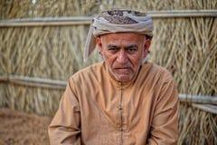 Retrato do homem árabe foto de stock