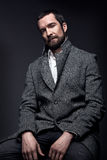 Retrato do homem com barba Imagem de Stock Royalty Free