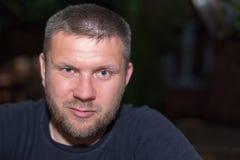 Retrato do homem com uma barba Imagem de Stock