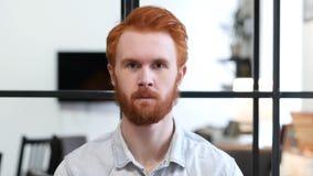 Retrato do homem da barba Fotos de Stock Royalty Free