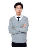 Retrato do homem de negócio Fotos de Stock